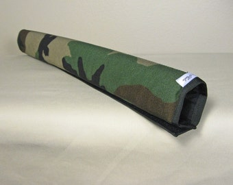 "CUSTOM 14"" Camo Top Tube Bicycle Frame Pad"