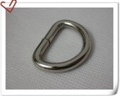 1 inch (inner diameter) thick D-rings Purse Hooks high quality 12  Pcs per bag U64