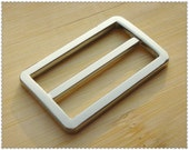 1.25(1 1/4) inch(inner diameter) Nickel alloying rectangle sliders strap adjuster  10pcs 3mm thickness   U5