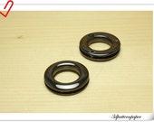 1/2 inch( inner diameter ) Gunmetal  Alloying Grommet Eyelet  10pcs E34