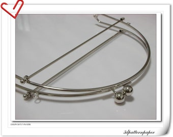 9inch metal frame big purse frame Y12