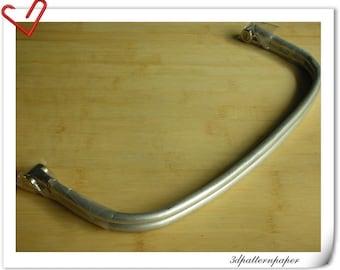 12 inch aluminous tubular internal hinge Bag frame Z19