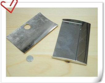 Metal Business card holder frame  to  Make your own care holder   9cm x6cm Z22
