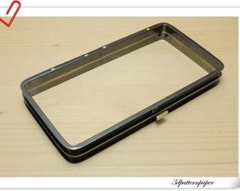 18cm x 9.5 cm Anti bronze Wallet frame for full frame clutch making C70