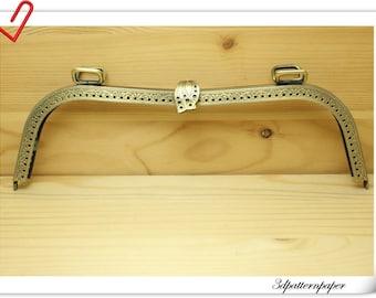 Purse frame  26cm anti bronze sewing purse frame Purse supplies K81