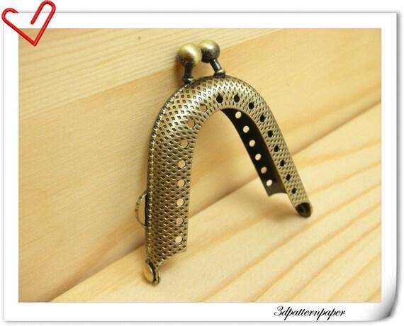 2  inch Anti bronze sewing  purse frame (purse making supplies)   A3