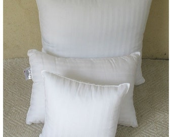 Custom Made Pillow insert any size made to order.  purchase with comfyheaven covars  only.  vacuum  pack  pillow  inserts . 16inch