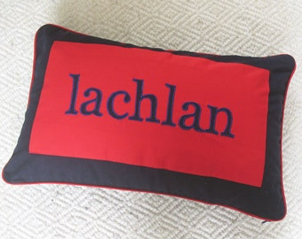 Personalized name pillows - Custom Made cushion covers with your name