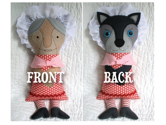 Gramma Wolfie Two-faced Doll No. 2