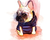 French Bulldog Limited Edition Art Print
