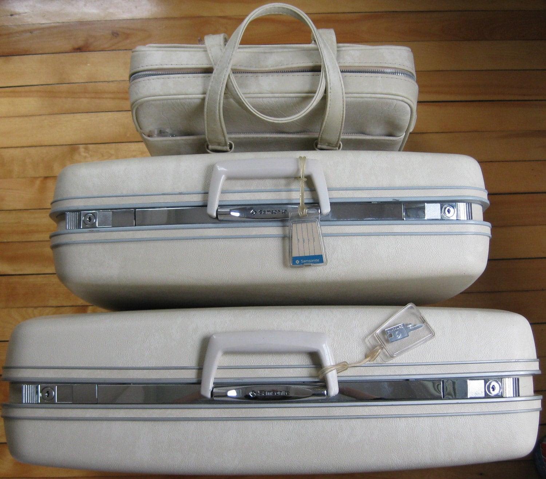 Vintage samsonite luggage - Lookup BeforeBuying