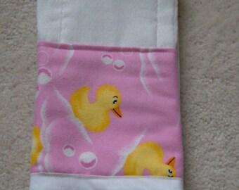 Rubber Ducky Burp Cloth