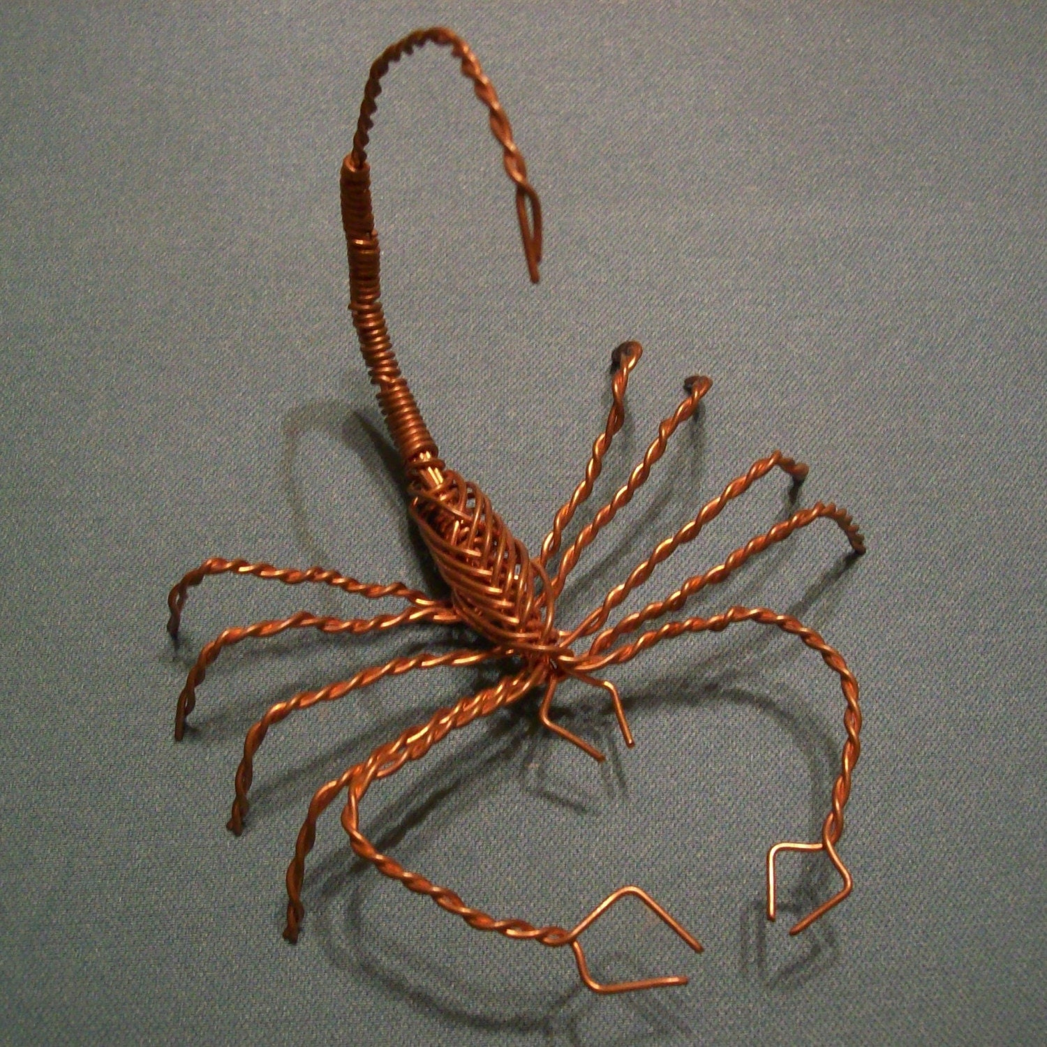Copper wire scorpion