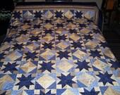 Blue Indigo Quilt