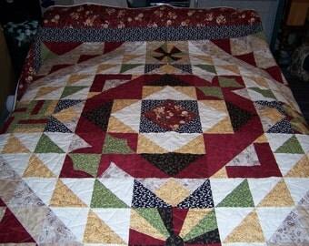 Mandarin Maze Quilt