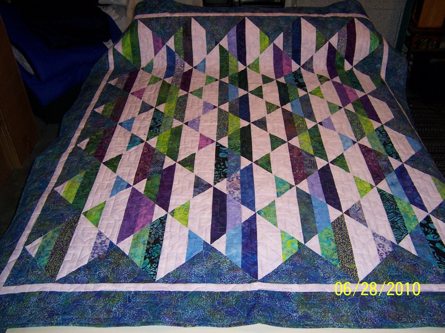 Strip Tube Quilt