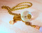 Vintage Style Sweetheart Necklace