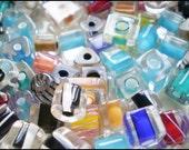 Assorted Blown Glass Beads