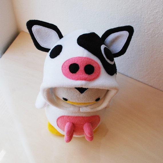 Cow Penguin Plush PERSONALIZED for YOU
