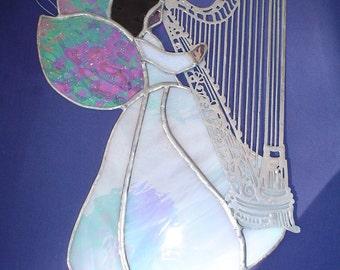 heavenly harp angel