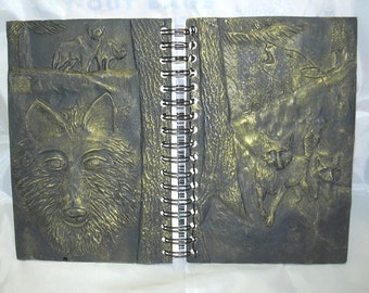 Gold Wolf Journal  in a woodland scene