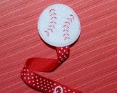Baseball Star - Baby Pacifier Clip