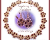 Raspberry Ice necklace PATTERN
