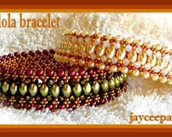 Beading Tutorial - Gondola bracelet - Netting stitch
