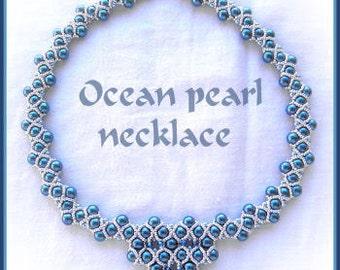 Ocean pearl necklace PATTERN