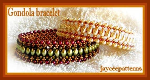 Gondola bracelet PATTERN