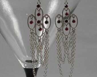 Glamorous Swarovski Earrings V