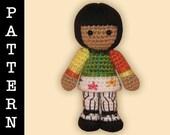 Crochet Pattern - Amigurumi Angel Doll