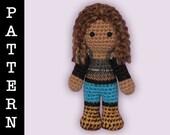 Crochet Pattern - Amigurumi Mimi Doll