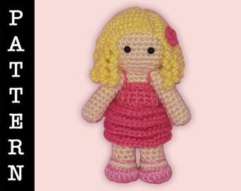 Crochet Pattern - Amigurumi Galinda