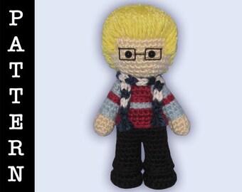Crochet Pattern - Amigurumi Mark Doll