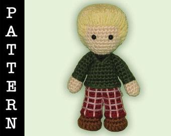 Crochet Pattern - Amigurumi Roger Doll