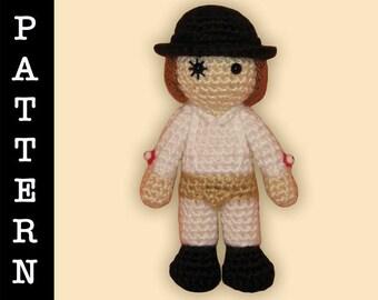 Crochet Pattern - Amigurumi Clockwork Orange Alex