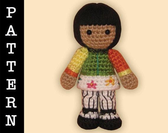 Amigurumi Angel Doll : Crochet Pattern Amigurumi Angel Doll