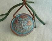 Faux Patina Copper Necklace Set