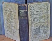 Antique Arithmetic Book 1877