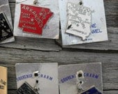 Choice of Vintage state souvenir charms  FREE SHIPPING
