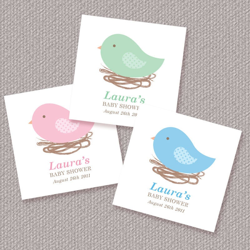 Baby Shower Stickers For Favors: Kitchen & Dining