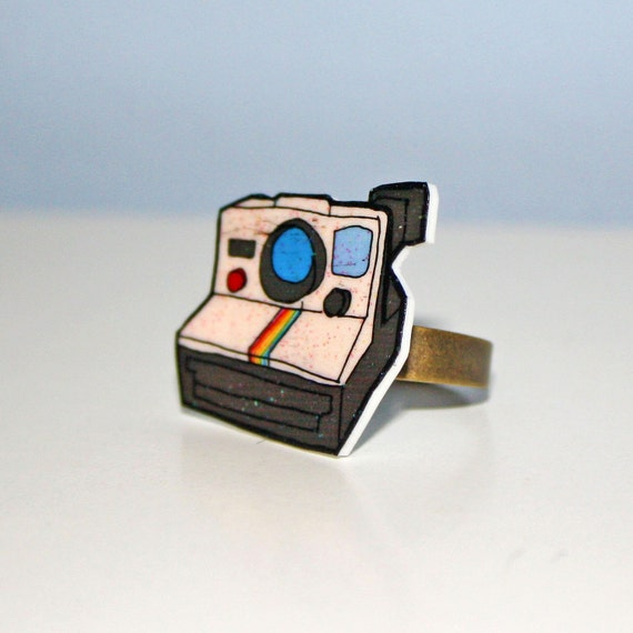 polaroid camera ring