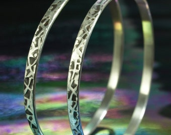 Hoop Earrings- Zen Web 2