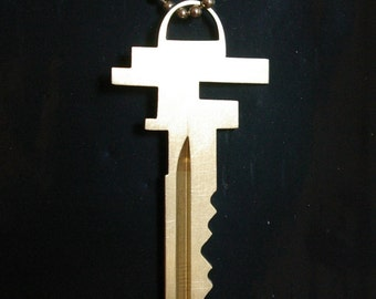 falling water key pendant