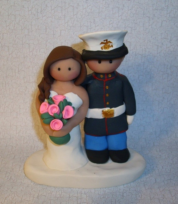 military wedding cake topper unavailable listing on etsy 17371