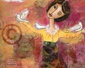 I Am Illuminated When I Am Free------8x10 Fine Art Print