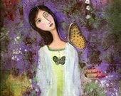 Peace -----8x10 Fine Art Print by Sonia Close Gharib