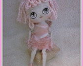 Little Lucy - A Cloth Art Doll - CUSTOM ORDERS