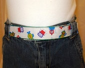 Reserved for CantaloupeCorner Boutique Toddler Belt Robots